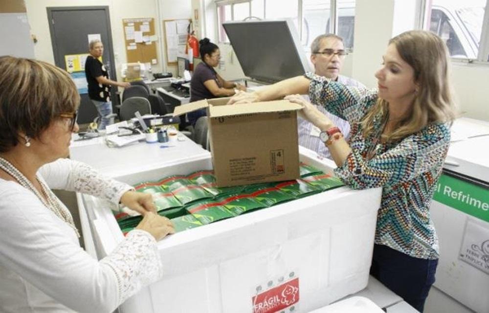 Ir para Rio Grande do Sul receberá mais de 4 milhões de doses contra gripe.