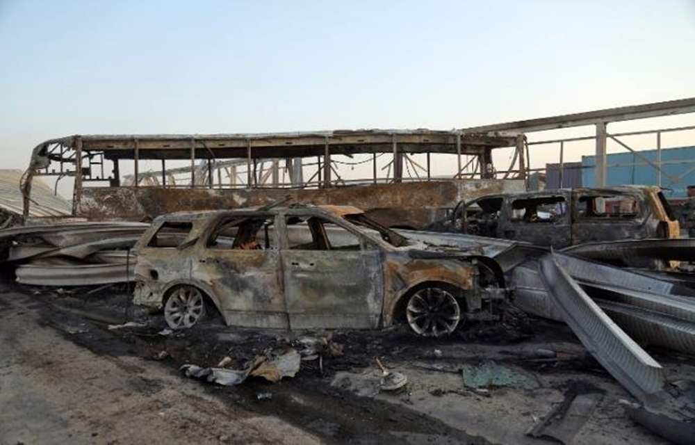 Ir para Atentados do Estado Islâmico no Iraque deixam pelo menos 84 mortos.