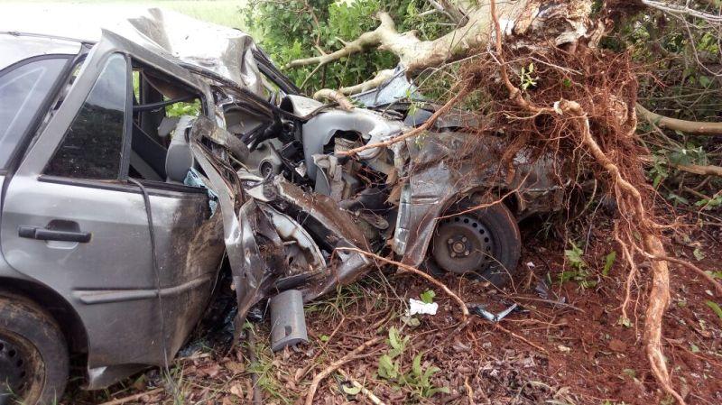 Ir para  <p><big>Um acidente de tr&acirc;nsito na madrugada deste s&aacute;bado(07) em Marcelino Ramos, resultou em ferimentos graves no condutor de um autom&oacute;vel com placas de Erechim,&nbsp;um jovem de 20 anos, morador...