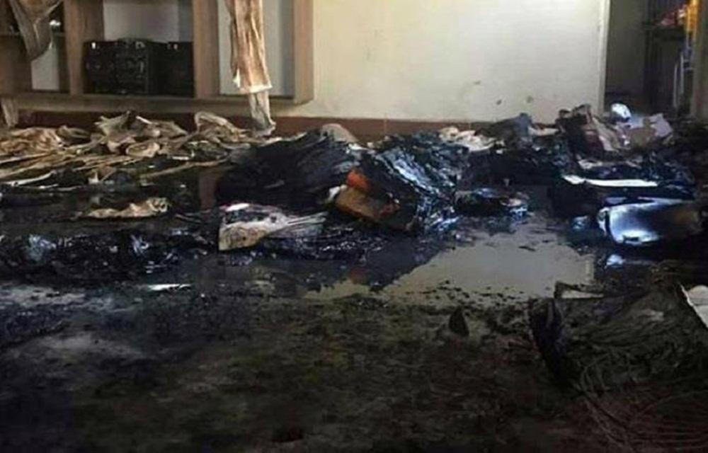Alunos de creche incendiada em Janaúba voltam às aulas hoje.
