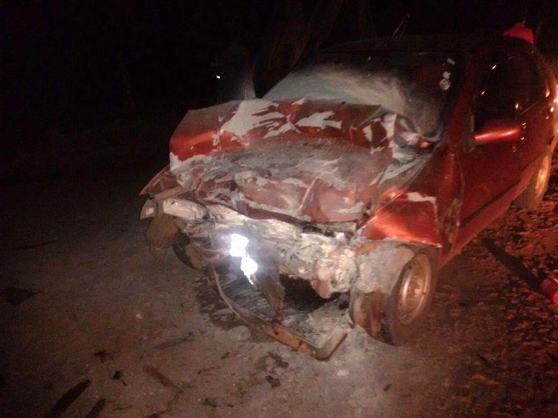 Ir para Dois feridos em colisão frontal no interior de São Valentim