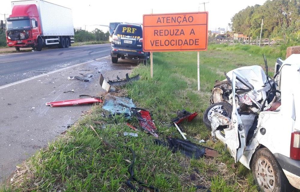 Número de acidentes e mortes em rodovias federais cai em 2017.