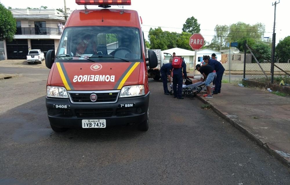 Homem ferido com golpes de facão após discussão em Erechim.