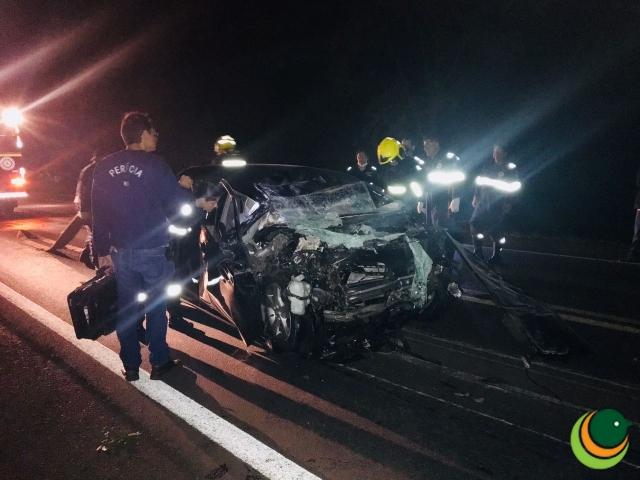 Ir para  <p><big>Na noite desta quarta-feira (28), um grave acidente de tr&acirc;nsito resultou na morte de uma fam&iacute;lia no Km 206 da BR 386 em Victor Graeff, no trecho entre os munic&iacute;pios de Tio Hugo e Santo...