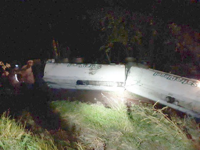 Ir para  <p><big>A Polícia Rodoviária Federal (PRF) atendeu ocorrência de saída de pista seguida de capotamento, na noite de sexta-feira (13). O acidente aconteceu na BR 282, KM 507,...