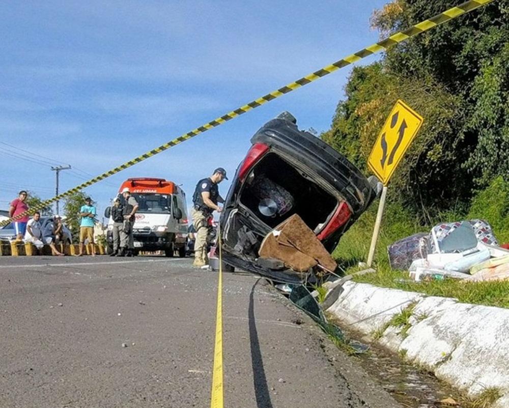 Ir para  <p><big>Durante os cinco dias de fiscaliza&ccedil;&atilde;o refor&ccedil;ada na Opera&ccedil;&atilde;o Viagem Segura do Dia do Trabalho nas estradas do Rio Grande do Sul, foram contabilizadas 25 mortes no...