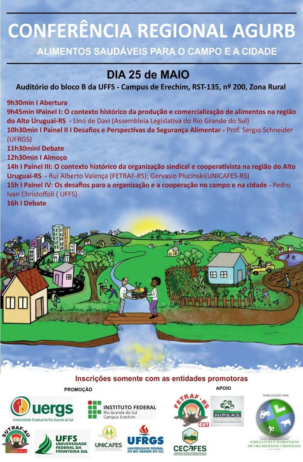 Erechim sediará Conferência Regional da AGURB
