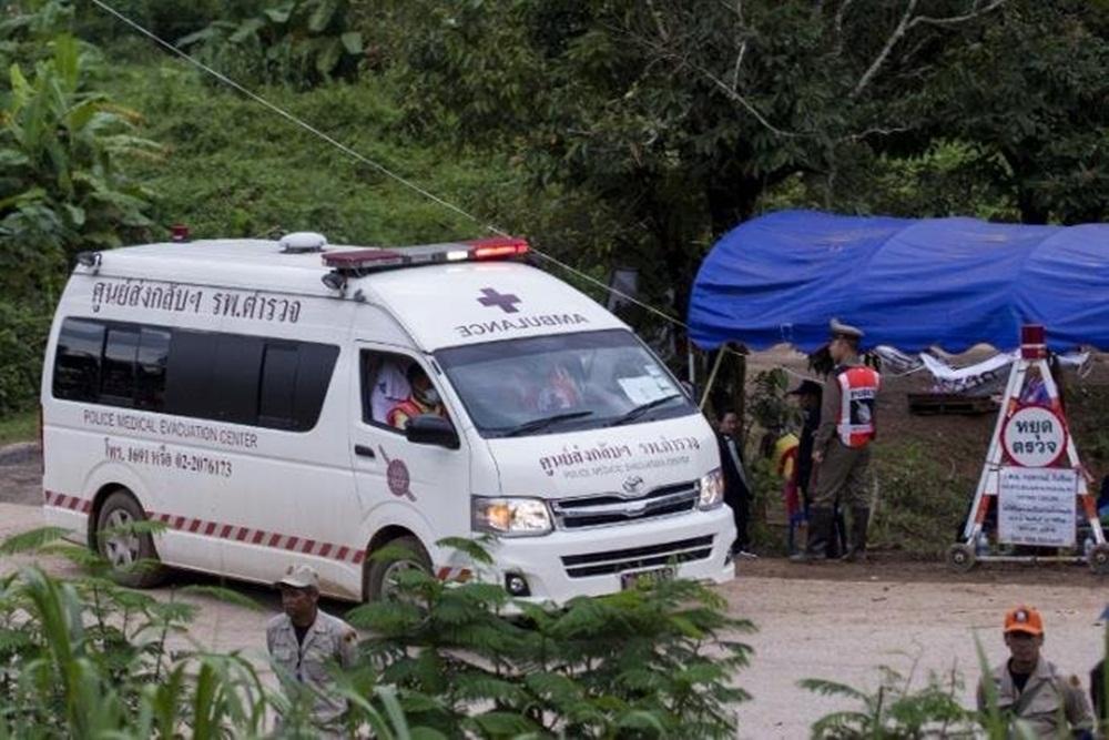 Ir para  <p>Sucesso total. Após duas semanas presos dentro de uma caverna inundada, o último menino e seu treinador foram resgatados pouco antes das 9h (horário de Brasília) na Tailândia, de...