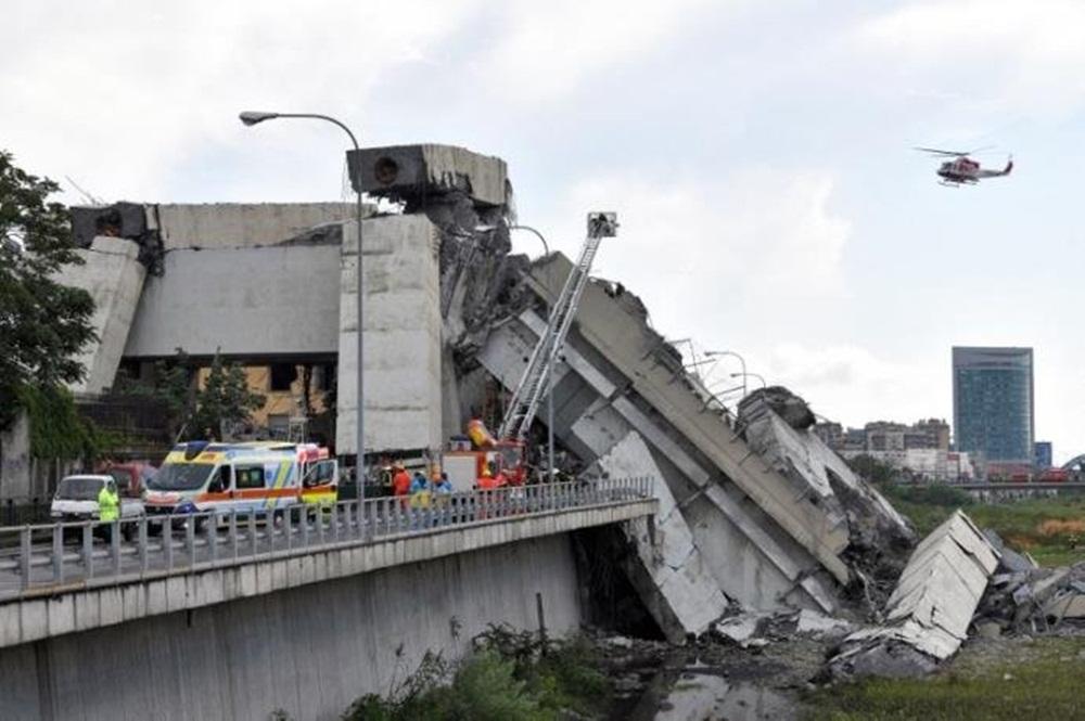 Número de mortos em desabamento de ponte na Itália sobe para 35
