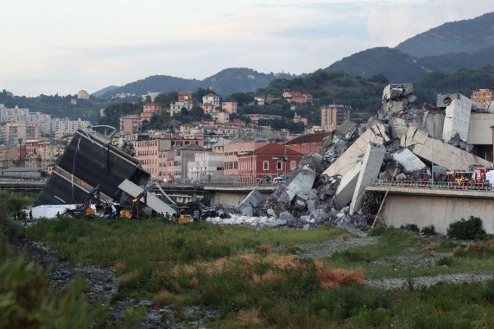 Número de mortos em tragédia de Gênova sobe para 38.