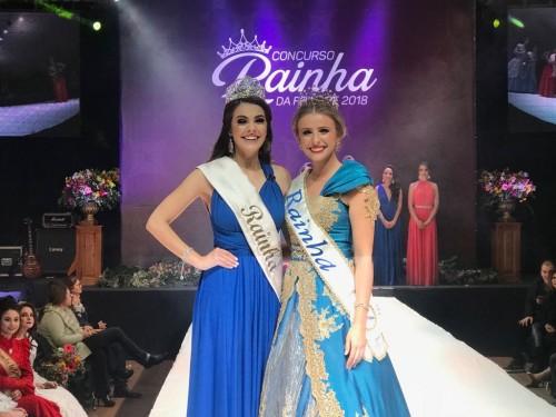 Ir para  <p><big>Uma das maiores feiras do Alto Uruguai Gaúcho, a Frinape, já tem a sua representante, Talita Lorenzetti, candidata do Clube do Comércio será a rainha da Frinape 2018. A atual rainha...