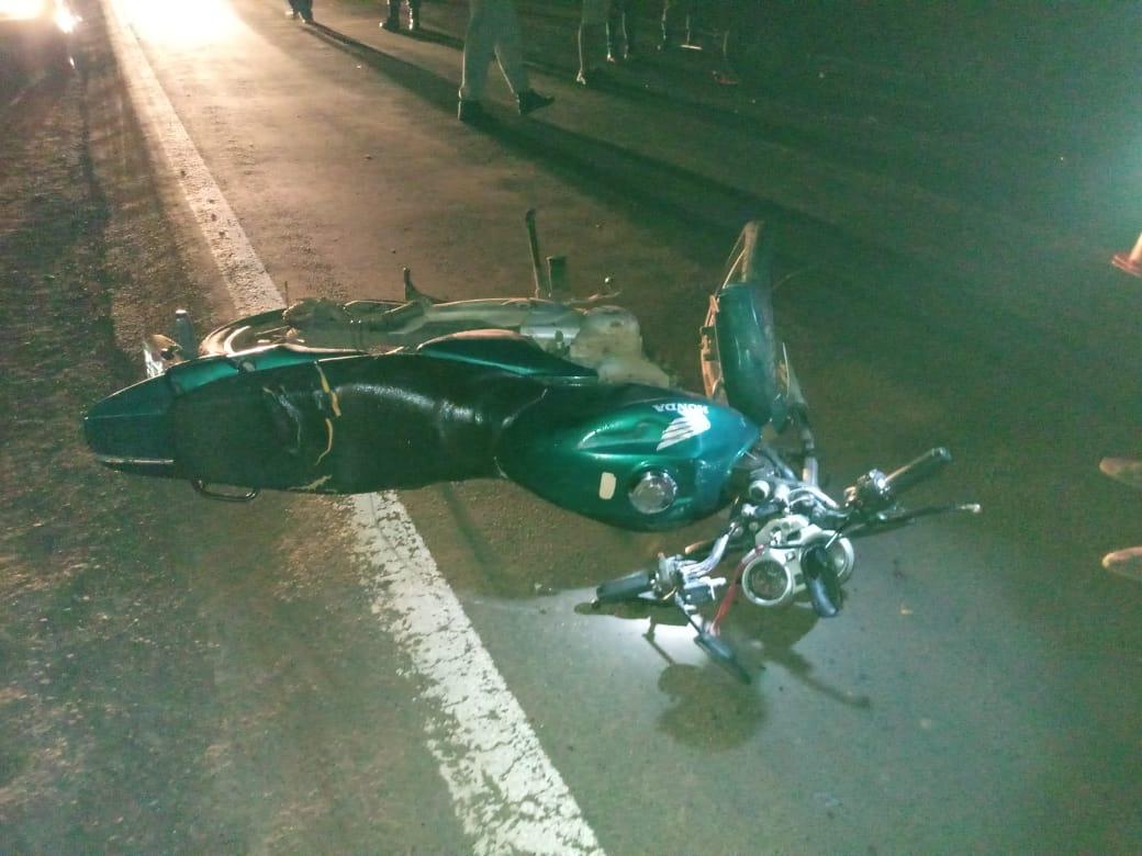 Condutor de moto morre depois de bater de frente com gerico