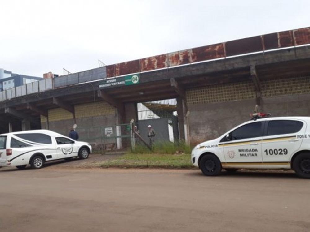 Corpo encontrado sob arquibancada do Estádio Ypiranga