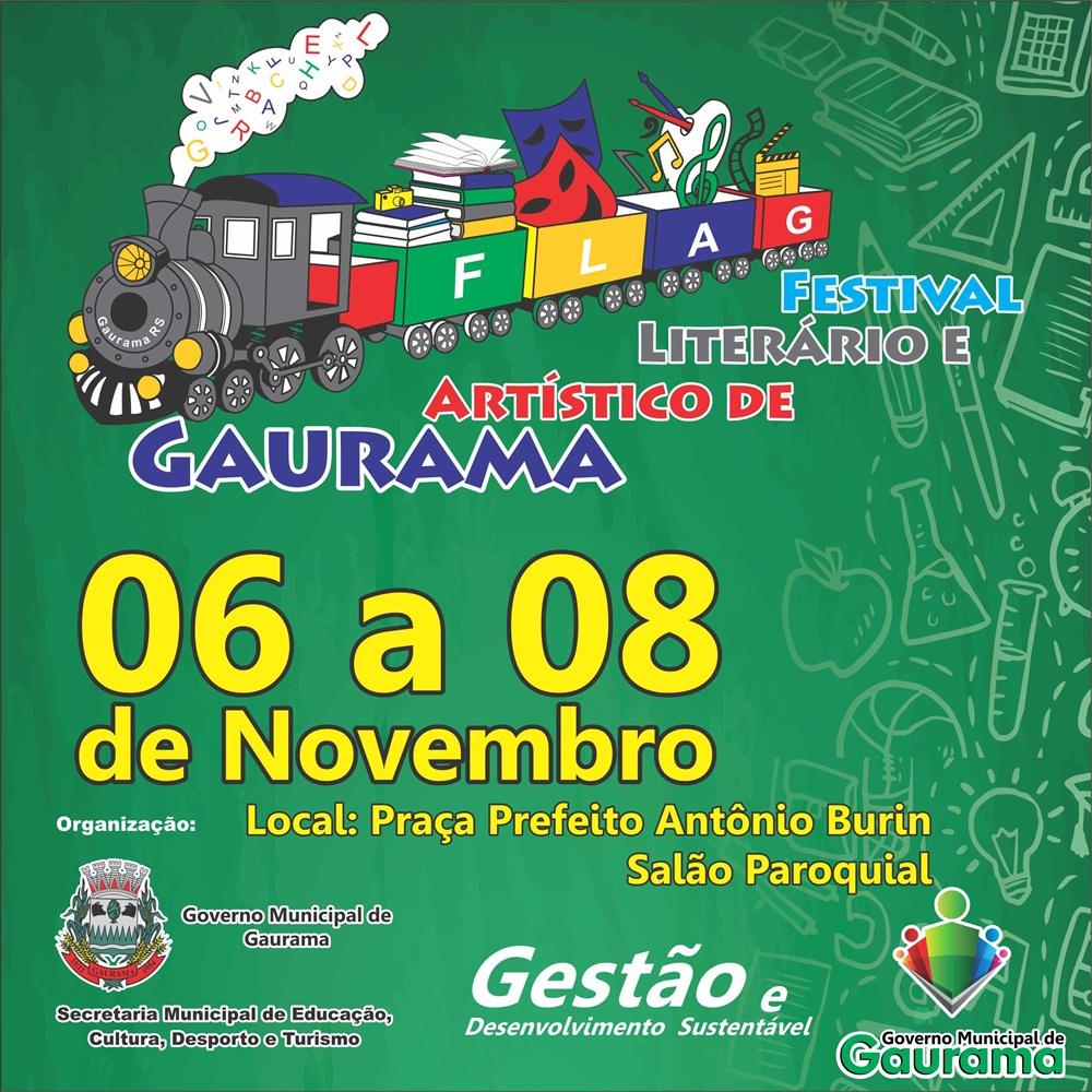 I Festival Literário e Artístico de Gaurama se realizará em novembro