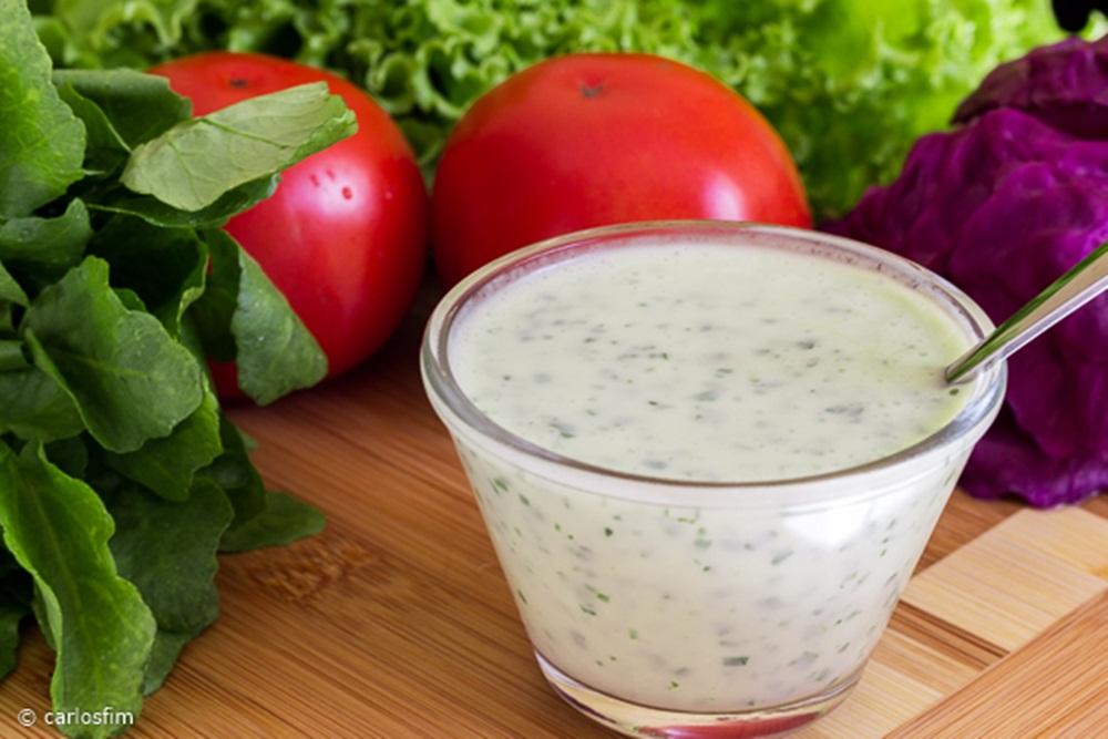 Molho delicioso para saladas