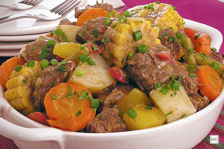 Ir para Picadinho de carne e legumes