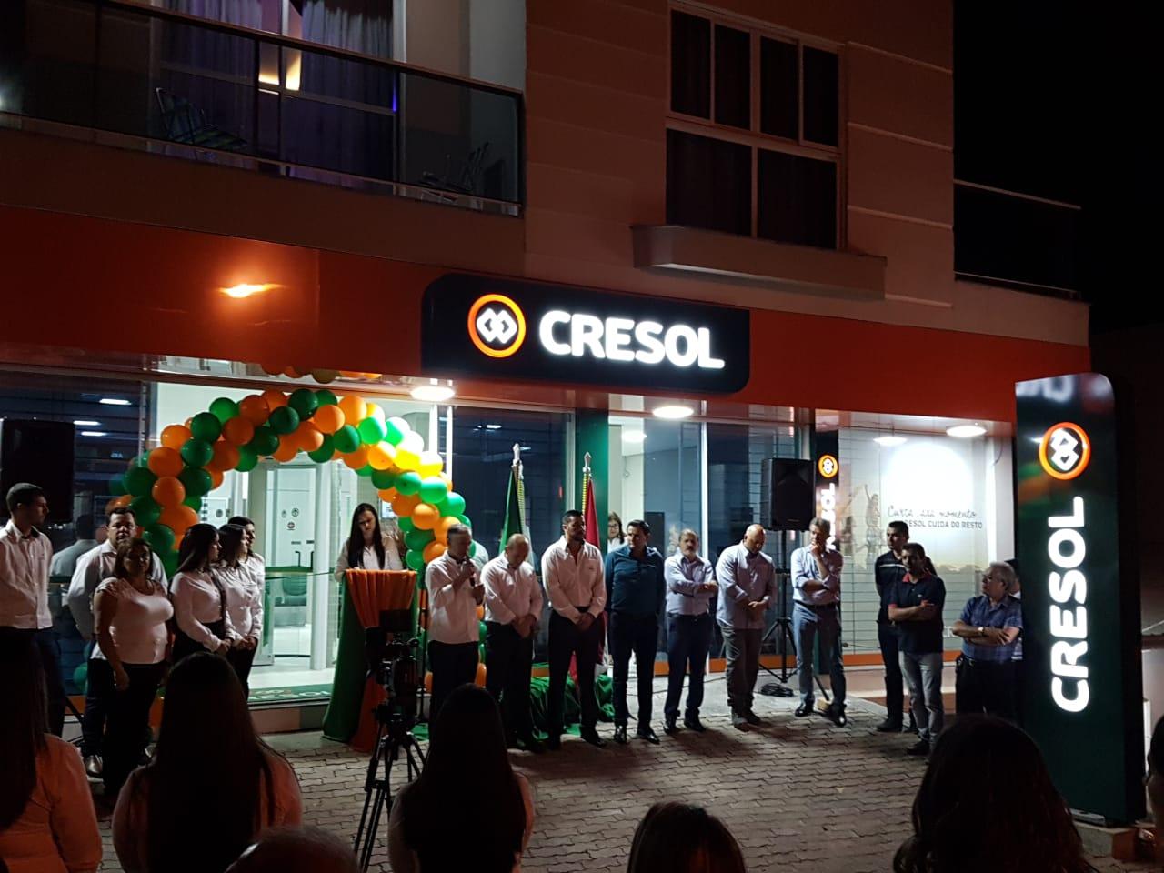 Agência de Relacionamento do Sistema Cresol Sicoper é inaugurada no município de Lages
