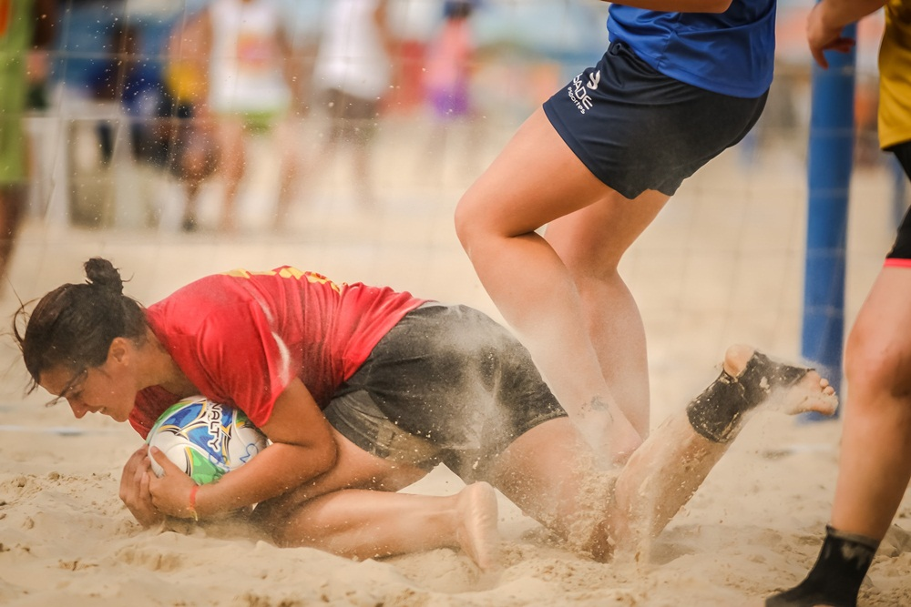 Ir para  <p><big>Iniciou neste domingo (24/02), a <strong>1ª Taça Termas Marcelino Ramos</strong>. O torneio que segue até 10 de março, acontece nas modalidades de Beach Soccer Masculino e...