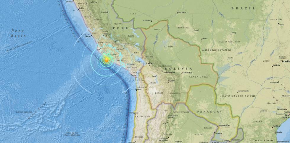 Ir para  <p>Um forte terremoto, de 7,0 graus na escala Richter, atingiu o Peru nesta sexta-feira. O tremor teria provocado a evacua&ccedil;&atilde;o de pessoas da regi&otilde;es pr&oacute;ximas ao litoral por conta da possibilidade...