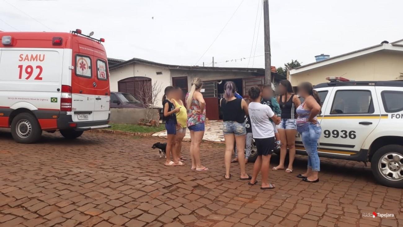 Ir para  <p><big>ma mulher de 34 anos faleceu na manhã deste sábado, 16/03, por volta das 10h30, em uma residência do Bairro São Paulo, em Tapejara, vítima de uma descarga...