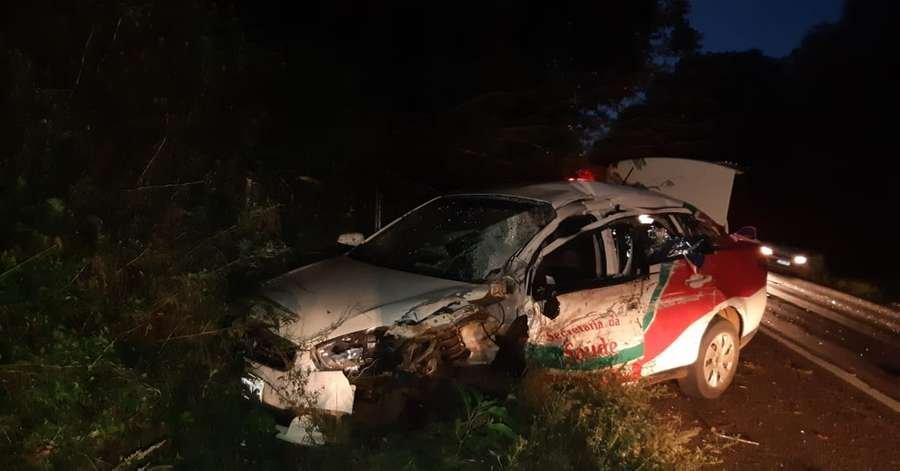 Paciente morre em acidente na BR 386, em Seberi.
