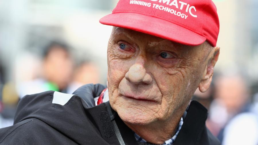 Morre aos 70 anos o tricampeão mundial de Fórmula 1 Niki Lauda.