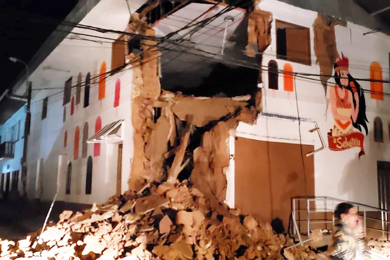 """Ir para  <p>Um forte <a href=""""https://www.correiodopovo.com.br/not%C3%ADcias/mundo/terremoto-de-magnitude-7-5-%C3%A9-registrado-no-peru-1.341494"""" target=""""_blank""""><strong>terremoto de magnitude..."""