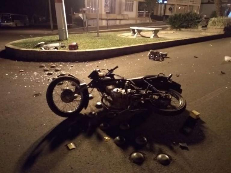 Jovem morre em acidente em Machadinho
