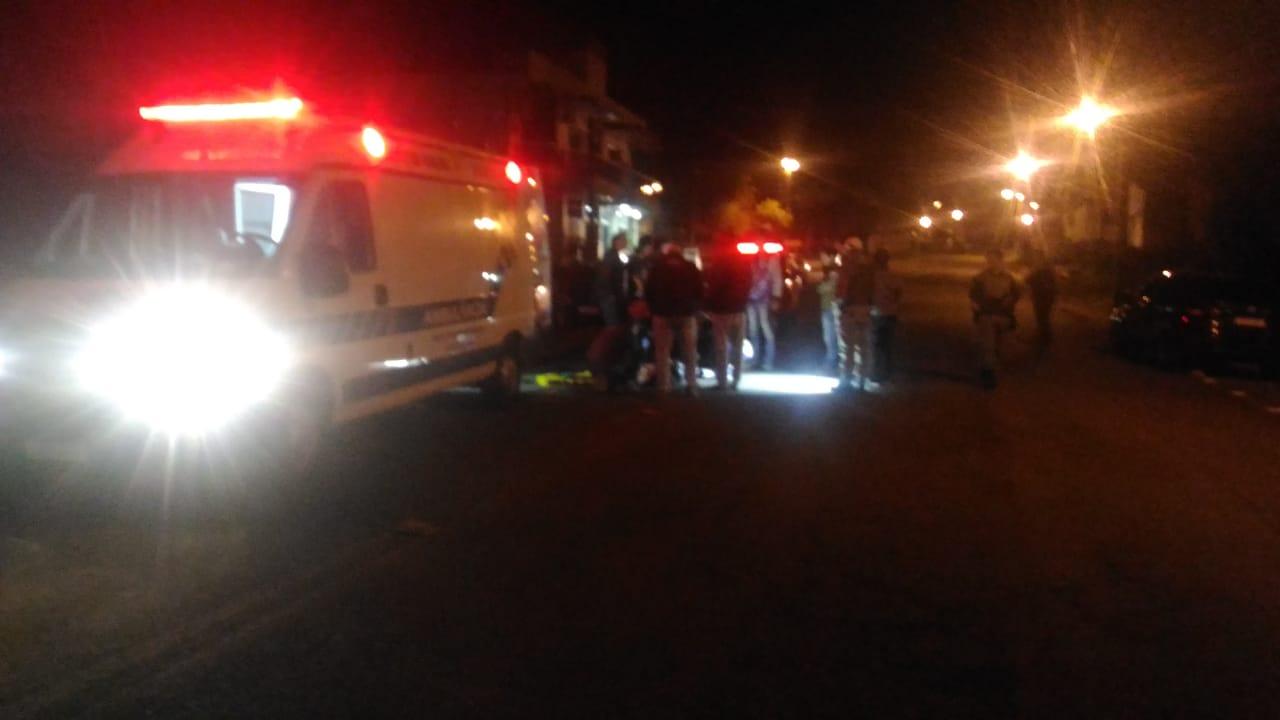 Ir para  <p><big>Na noite do &uacute;ltimo domingo (07/07), por volta das 19h00m, um homem foi atropelado em via p&uacute;blica por um autom&oacute;vel que trafegava em dire&ccedil;&atilde;o ao...