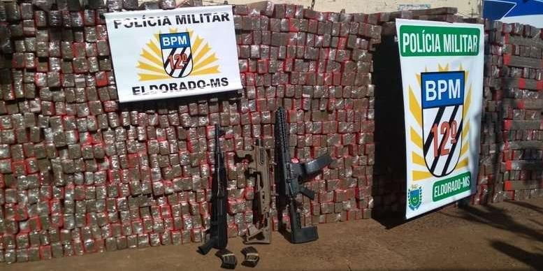 Ir para  <p>A Pol&iacute;cia Militar do Mato Grosso do Sul confirmou que o carregamento de mais de 1,5 tonelada de maconha, apreendido na tarde de segunda-feira, viria para o Rio Grande do Sul. A droga tinha como destino a cidade...
