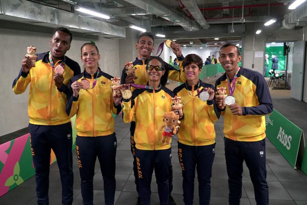 Ir para  <p><big>Disputado oficialmente desde 1999, os Jogos Parapan-americanos t&ecirc;m agora o Brasil como o dono da melhor campanha de todos os tempos: 308 medalhas, 124 ouros, 99 pratas e 85 bronzes. Essa &eacute; a quarta vez...
