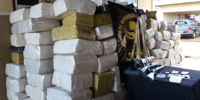 Ir para  <p>A Pol&iacute;cia Civil de Santa Catarina confirmou que a organiza&ccedil;&atilde;o criminosa envolvida com o transporte de toneladas de drogas desde o Mato Grosso do Sul abastecia tamb&eacute;m o Rio Grande do Sul. O...