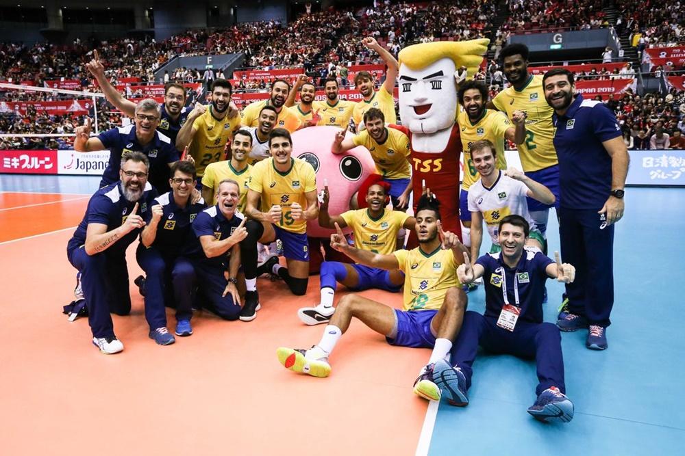 Ir para  <p><big>A Copa do Mundo de V&ocirc;lei Masculino, em Hiroshima, no Jap&atilde;o, conheceu hoje seu novo campe&atilde;o. A&nbsp;imbat&iacute;vel sele&ccedil;&atilde;o brasileira derrotou os...