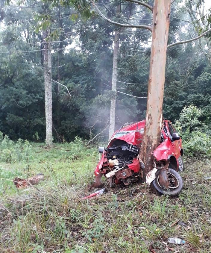 Gravíssimo acidente na ERS 331 entre Viadutos e Gaurama