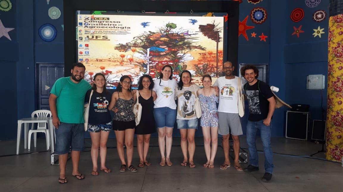 Acadêmicos da UFFS apresentam trabalhos no Congresso Brasileiro de Agroecologia