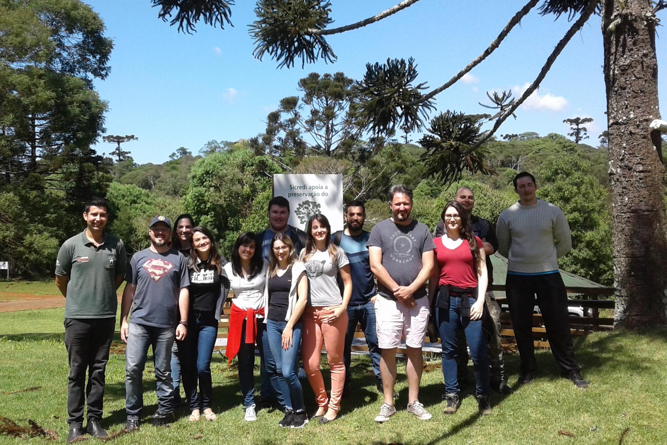 Ir para  <p>O Programa de P&oacute;s-Gradua&ccedil;&atilde;o (PPG) em Ecologia da URI realizou, entre os dias 12 e 16 de novembro, a disciplina de Ecologia de Campo, que foi ministrada no Parque Estadual das Arauc&aacute;rias,...