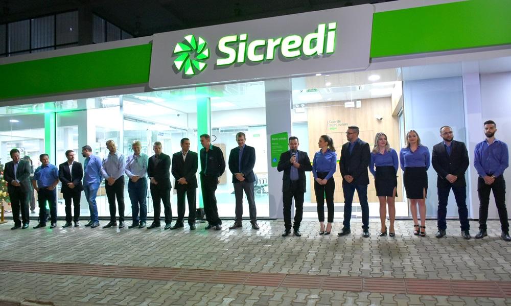 Sicredi UniEstados inaugura em Irani a sua 47ª agência