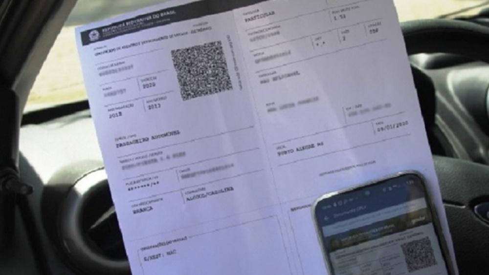 Ir para  <p><big>Propriet&aacute;rios de ve&iacute;culos j&aacute; podem imprimir por conta pr&oacute;pria o Certificado de Registro e Licenciamento do Ve&iacute;culo (CRLV), documento que atesta que o ve&iacute;culo...