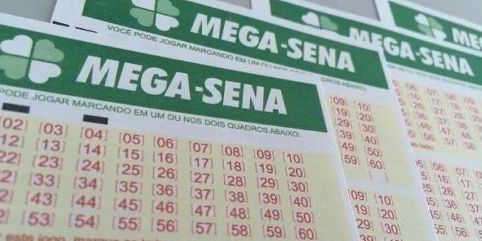 Duas apostas acertam seis dezenas da Mega e dividem R$ 200 milhões.
