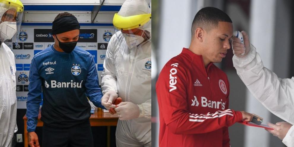 Ir para Inter e Grêmio passarão por novos testes para detectar a Covid-19