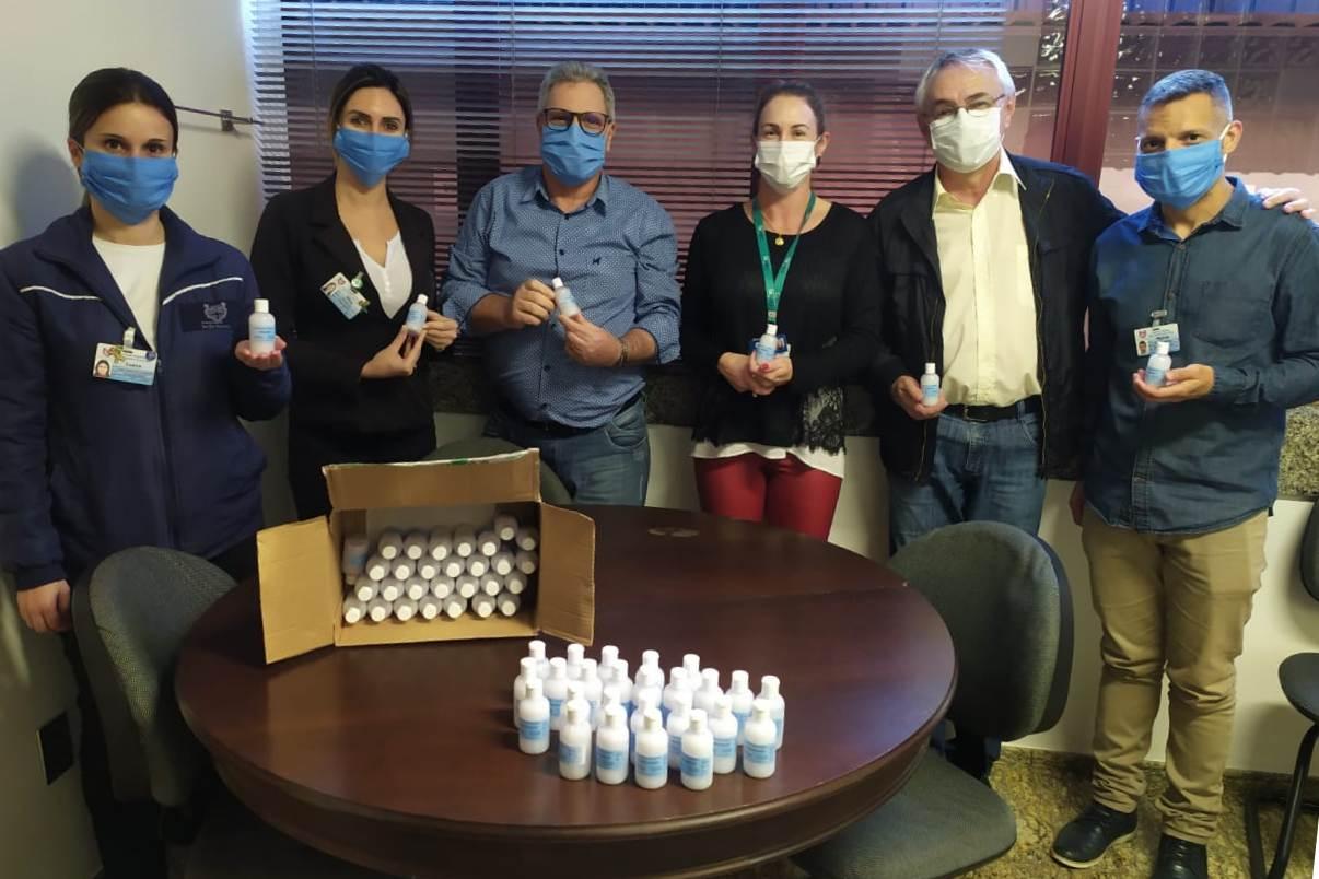 Ir para Hospital Santa Terezinha recebe nova doação de produtos da URI