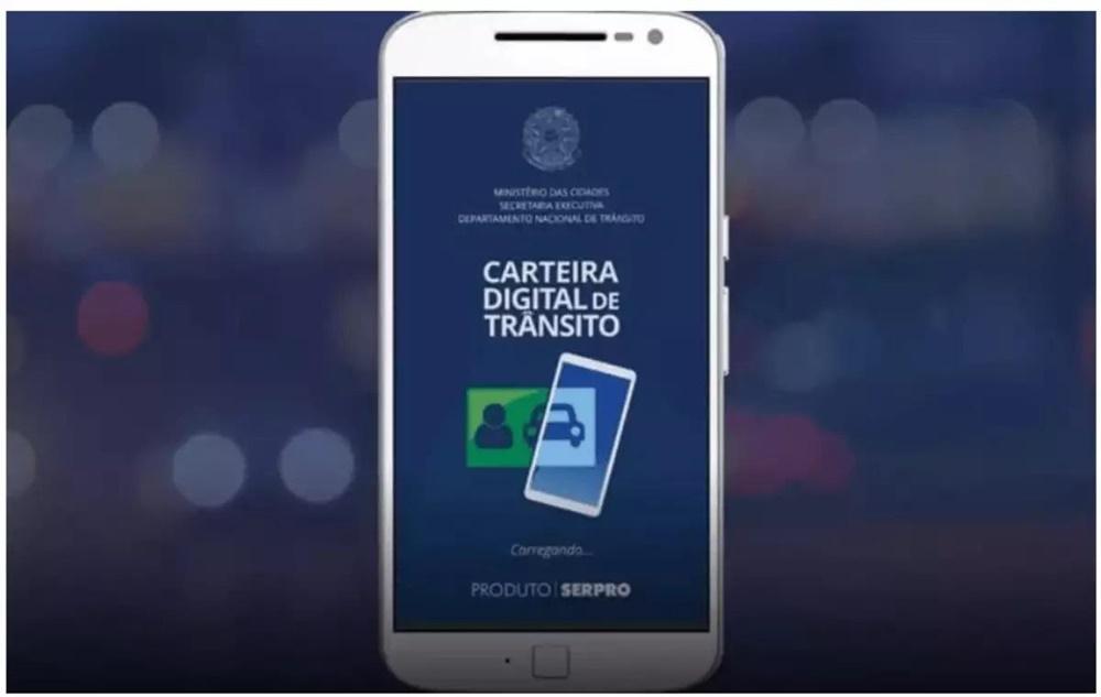 Multas poderão ser pagas através do aplicativo da carteira digital de trânsito