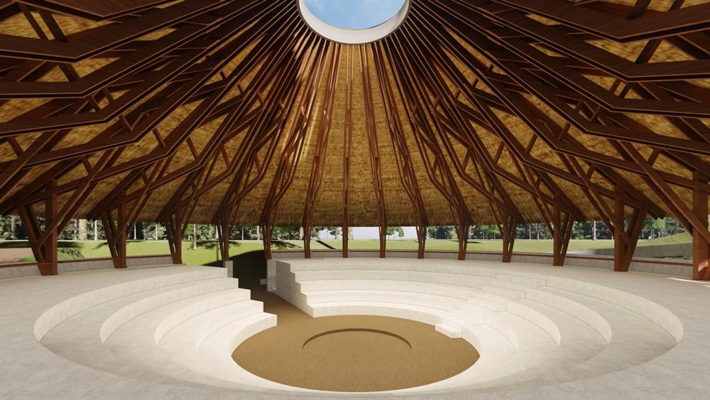 Projeto de extensão da UFFS - Campus Erechim elabora estudo arquitetônico para espaço cultural indígena
