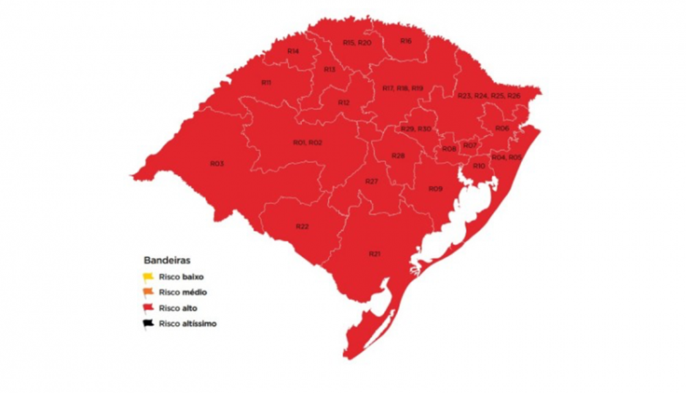 Ir para  <p><big>O Rio Grande do Sul passa pelo momento mais cr&iacute;tico da pandemia de coronav&iacute;rus. Com o n&uacute;mero de pacientes internados em leitos cl&iacute;nicos e em UTIs atingindo o pico da s&eacute;rie...