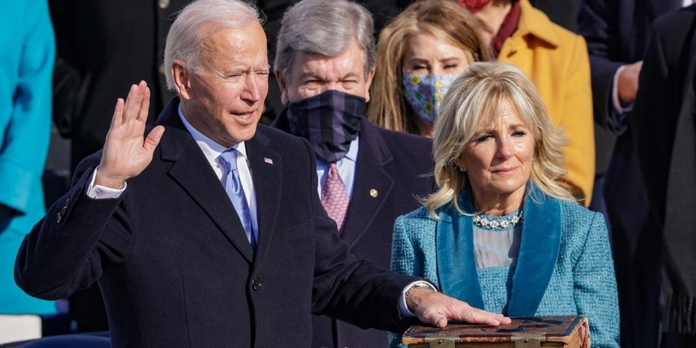Joe Biden assume como 46º presidente dos Estados Unidos