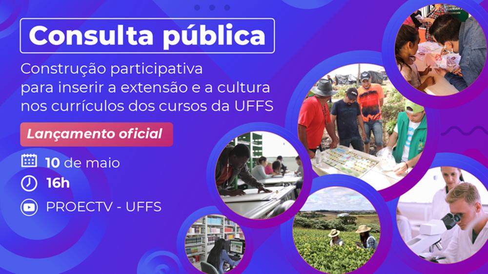 UFFS convida comunidade para consulta pública