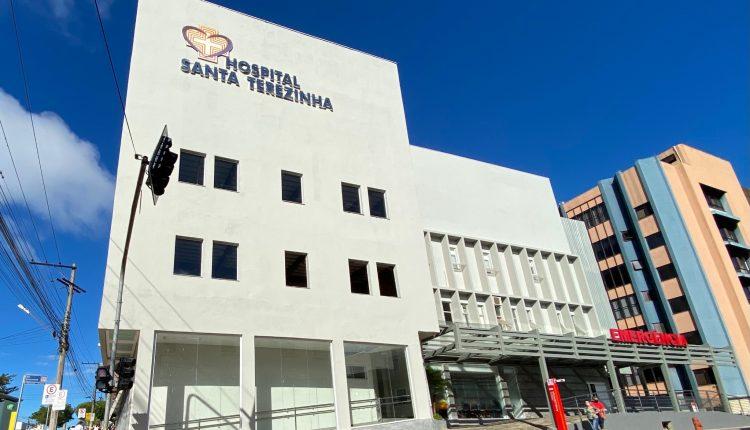 Capacidade máxima na UTI COVID do Hospital Santa Terezinha