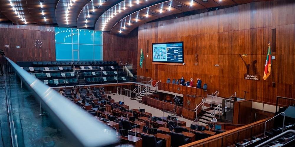Ir para  <p><big>A Assembleia Legislativa aprovou, em segundo turno, nesta ter&ccedil;a-feira, a Proposta de Emenda &agrave; Constitui&ccedil;&atilde;o (PEC) 280/2019, que retira a necessidade de...