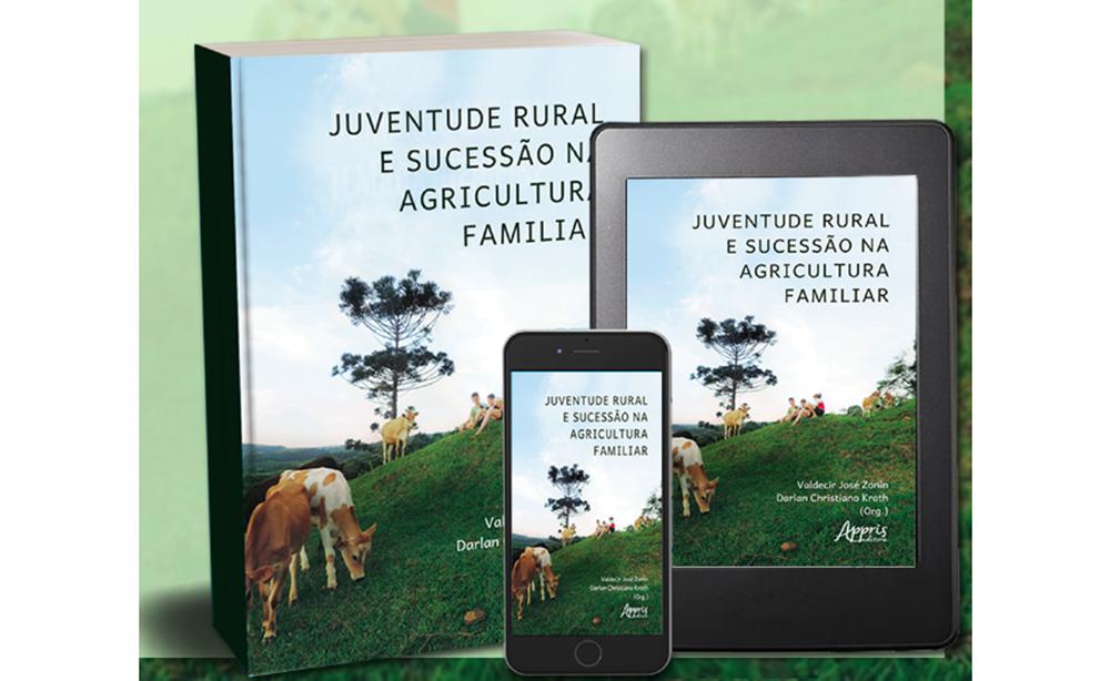 Professores da UFFS lançam livro sobre juventude rural e sucessão na agricultura familiar