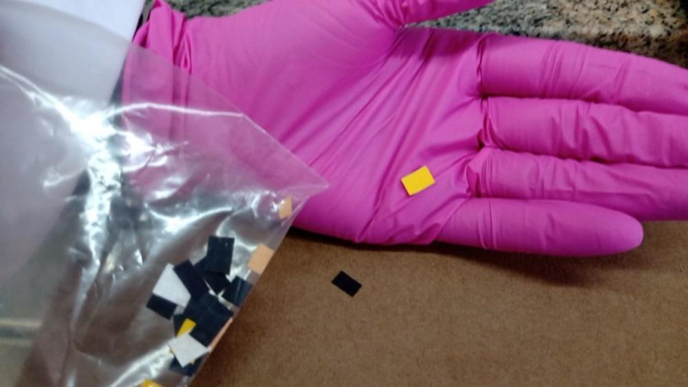 Ir para  <p><big>Uma droga com efeito semelhante &agrave; maconha, comercializada sob a forma de um pequeno selo de papel, foi identificada pela primeira vez no Rio Grande do Sul pelo Departamento de Per&iacute;cias Laboratoriais do...